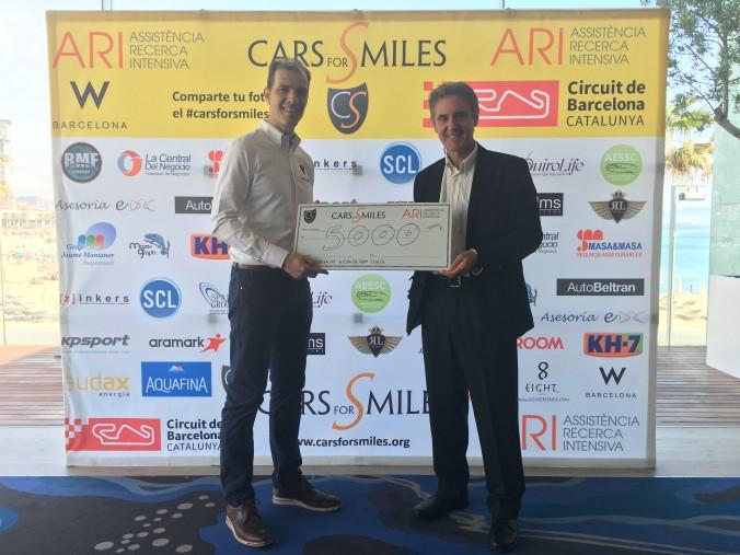 donacion cars for smiles ari 2017